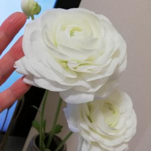 自分のために花を買う。