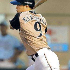 日ハム中島、球団が賢介氏の「3」打診も「生涯背番号9」宣言