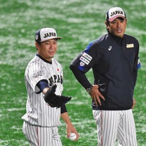 侍ジャパン稲葉監督、今大会で送りバントや機動力の必要性を再認識する