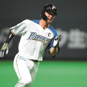 西川遥輝(28歳、打撃まぁまぁ、走塁トップクラス、守備ド下手)の評価