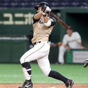 日ハム渡邉、ガッツ効果で好調維持 5試合連続安打で打率.407