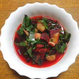 ビーツ デトロイトダークレッドのスープ