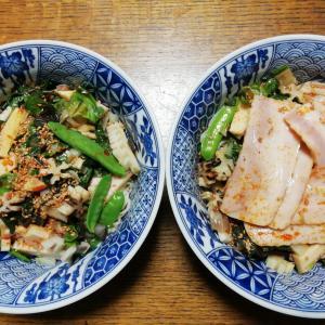 野菜たっぷりの反則だらけ広島つけ麺