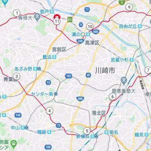 ハート型 神奈川・東京55km走 レポ① 〜ハートの左半分〜