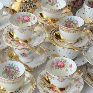 ★☆ アンティーク陶磁器のカップ&ソーサー ~カップの形状について~ ★☆