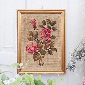 ★☆ 薔薇の刺繍フレーム ★☆