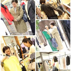 クローゼットがスッキリ整う!洋服選びが楽になる☆ワードローブチェック付き同行ファッションコンサル