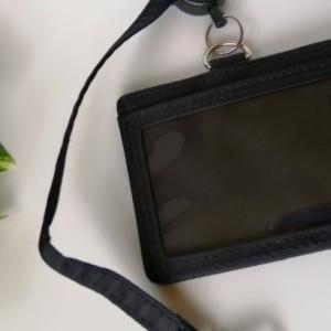 【無印良品】ナイロンのびるカードケース・リール付がICカード定期を使う女子には便利で使いやすい。