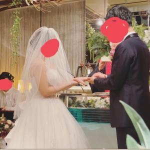 念願の結婚式♡