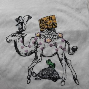 刺繍始めました