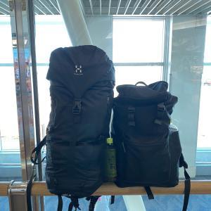 年末年始の8泊9日帰省。荷物はリュック2つだけで大丈夫でした
