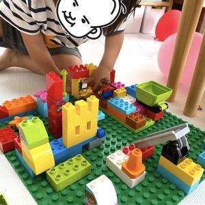 レゴでおうち遊び。飽きずに遊べるおもちゃはとても助かる!
