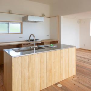 【Web内覧会】海が見える小さな家|入居前のキッチン編