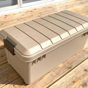 アイリスオーヤマ OD-BOX(アウトドア ボックス)いいね!無印頑丈ボックスと使い分け外収納に