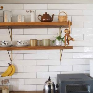 【最高に楽しくて悩ましい!タイル選びこと】わが家のキッチンと洗面所のタイルも紹介