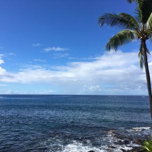 ハワイ旅行記⑤3日目 海沿いで朝食を