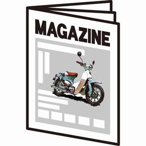 最近見かけたカブ関連雑誌