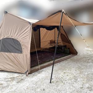ソロキャンプ2 庭キャン