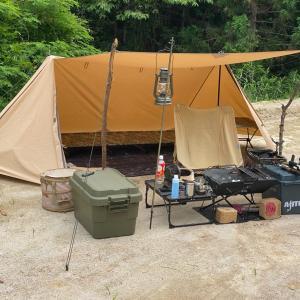 今週はソロキャンプ