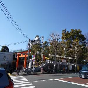 早稲田の穴八幡宮様へ♡