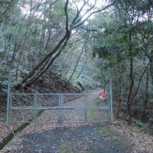 禅定寺山へ栄山公園から