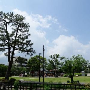 湯田温泉の井上公園