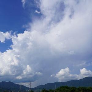 梅雨明けの名峰