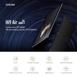 CHUWI Hi9 Air - Helio X20搭載の10.1インチLTEタブレットがいよいよ登場!詳細スペック・セール情報・公式発売日のまとめ!