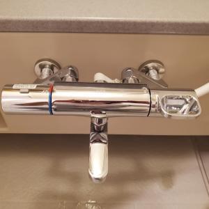 お風呂の水栓を替えました