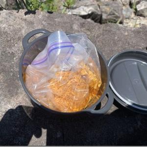 山と言えばラーメンですが、これからの季節お湯沸かすとかクッソ暑いので水でいけるだけいってみました
