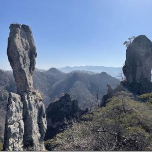 じじ・ばば岩に見る西上州の底力 ライドアンドハイクぐんま百名山 43座目【御堂山】
