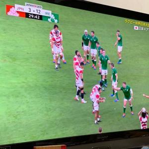 ラグビーワールドカップ アイルランド戦