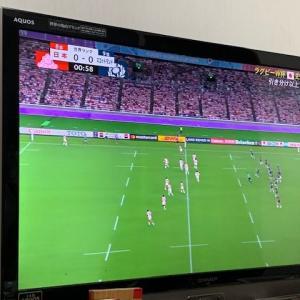 ラグビーワールドカップ スコットランド戦