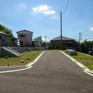 町田市大蔵町 建築条件なし売地全7区画の販売スタート