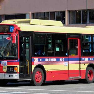 堀川バス 8631(久留米200か1536)