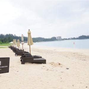 ザリッツカールトン沖縄宿泊記 宿泊者専用喜瀬ビーチのプライベートエリア紹介