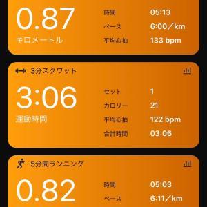 6/17 今日の消費カロリーは1000を絶対超える 現在の朝活状況