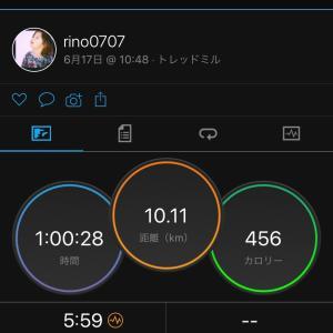 6/17 1日の消費カロリー達成