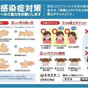 身を守る基本ってこれなのかな、手洗いと三密