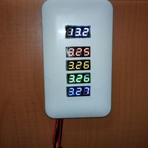 バッテリーの電圧は目安でしかない