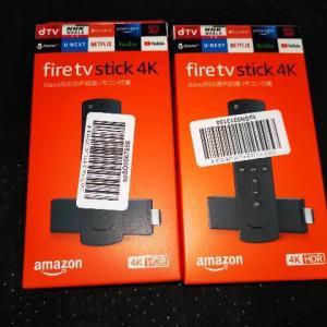「Fire TV Stick」のリモコン