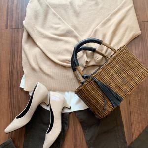 シャツレイヤードが簡単に出来るシフォン付け裾