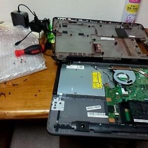 ハードディスク復旧・・・断念・・・