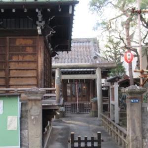 白金高輪駅から白金台駅へ ④ 丸山神社