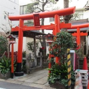 船光稲荷神社 ~ 住宅街に朱色の鳥居が映える! ~