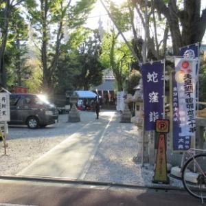 戸越銀座から中延へ ⑧ 蛇窪神社 (上神明天祖神社)