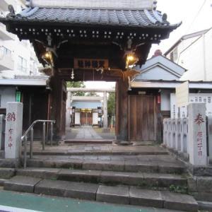 若松河田駅から曙町駅へ ⑥ 牛込柳町天祖神社