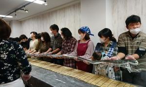 「日本橋の巻き寿司の会」楽しい!