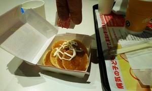 マクドのプチパンケーキとImado Fruit Factoryの絶品フルーツサンド