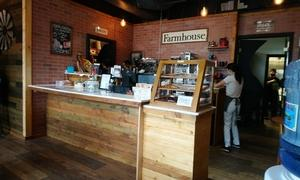 新しいカフェFarmhouse Cafe